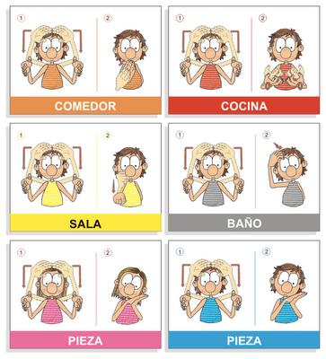 En mitu ayuda Lenguaje de signos