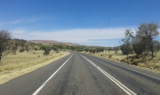 Road from Darwin to Alice Springs