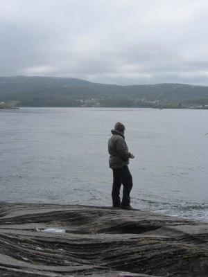 Fishing in the Saltstraumen maelstrom