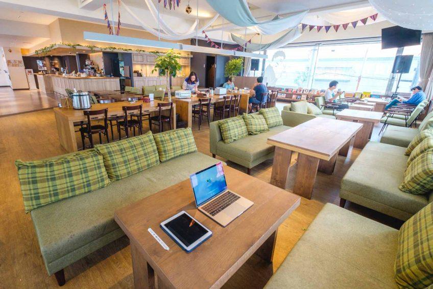 Emblem Hostel Nishiarai cafe and lounge