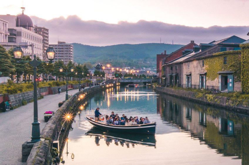 Hokkaido Summer Road Trip - Otaru canal