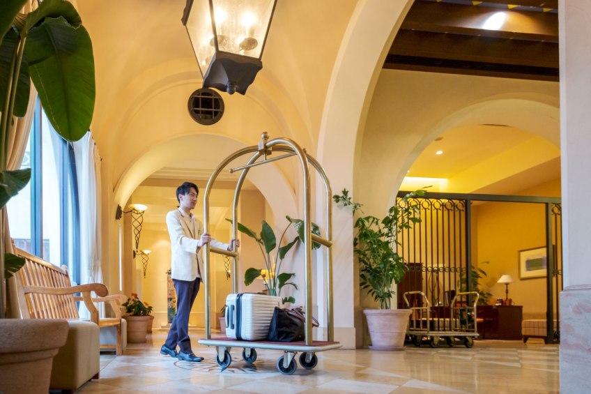 Hotel Nikko Alivila lobby