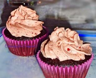 Strawberry Kiss Cupcake
