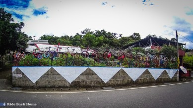 Bicycle was a huge culture in Taiwan