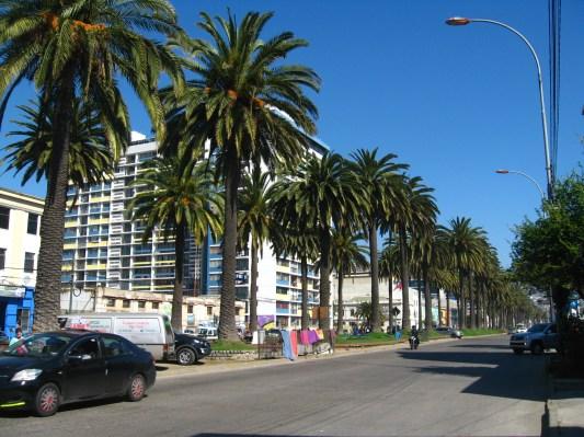 Boulevar de Valparaiso, Chile.