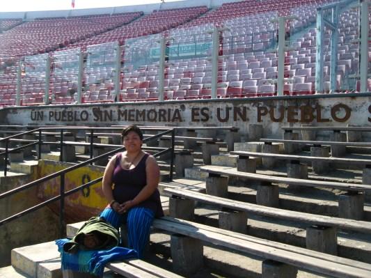 Leyenda principal del estadio.