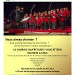 La Chorale Jaufré Rudel recrute-2017