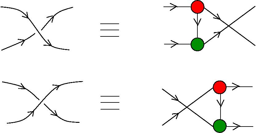 SPLICE and SWITCH for tangle diagrams in the chemical