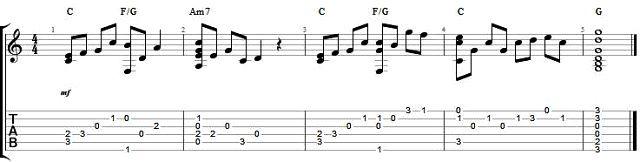 我的宣言 My Vow - 周柏豪 - 吉他譜 - Chord4