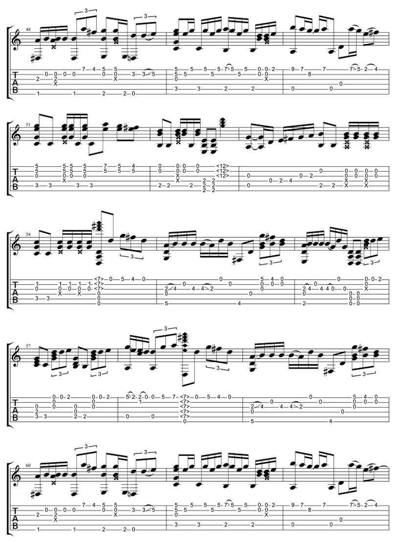 分手後不要做朋友 - 梁文音 - 吉他譜 - Chord4