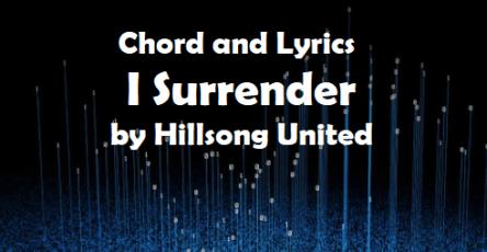 I surrender by Hillsong United