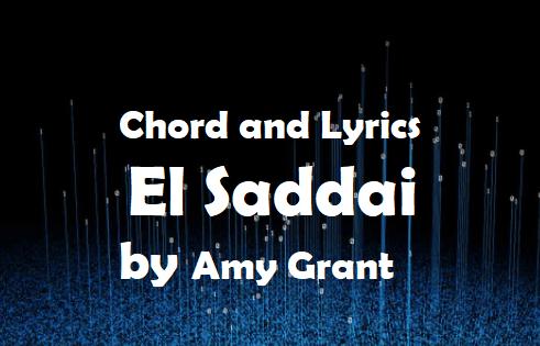 el sadday chord