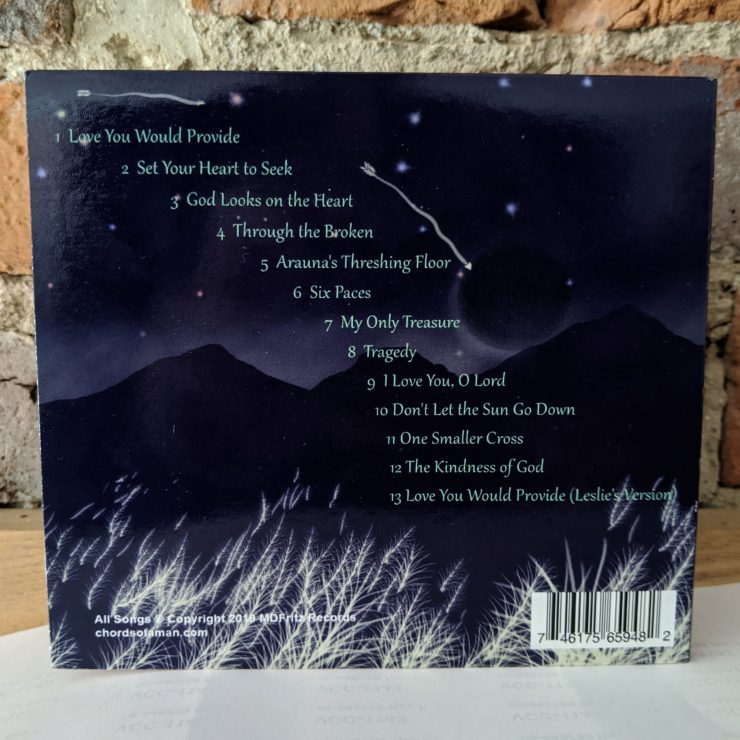 If Arrows Fly CD Back