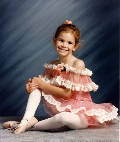 "June 1994 Age 7 ballet- ""The Sunny Side of the Street"" 5 6 7 8 Dance Sugar Hill, GA"