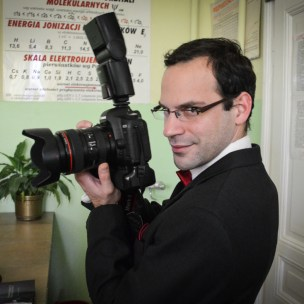 jeden z chórowych fotografów - aparat prawie przyrośnięty do ręki :D