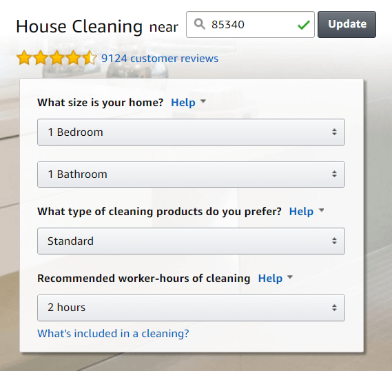 How much does a house cleaner cost?