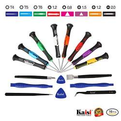 The Best Precision Screwdriver Set: Kaisi 16 Piece Repair Tool Kit For Small Electronics