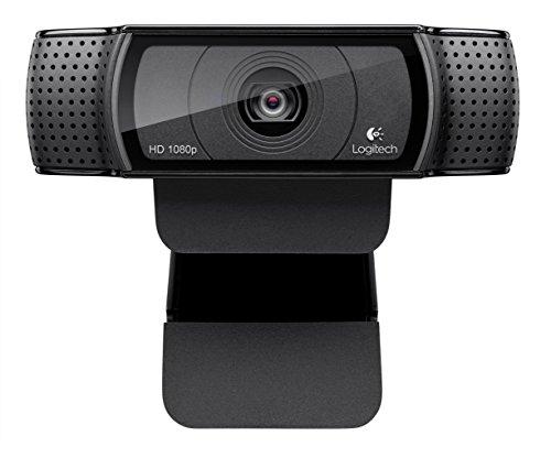 Best Webcam For Streaming: Logitech HD Pro C920 Widescreen Video Camera 1080P