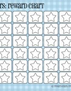 Blue plaidr rewards   also star reward chart printable rh masinky