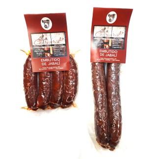 Chorizo extra de jabali Asturiano