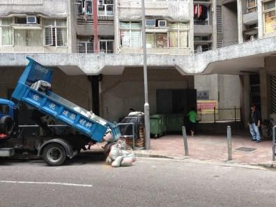 家居裝修的材料用量不大,用小車已經足夠