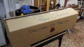 Curso Paco Chorobo USA - Caja de materiales
