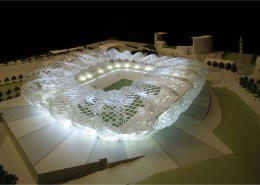 FIFA World Cup 2010, Durban Stadium. Choromanski Architects
