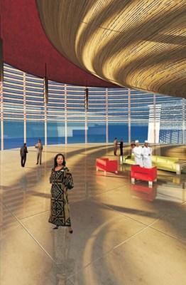Pan African Parliament, Choromanski Architects