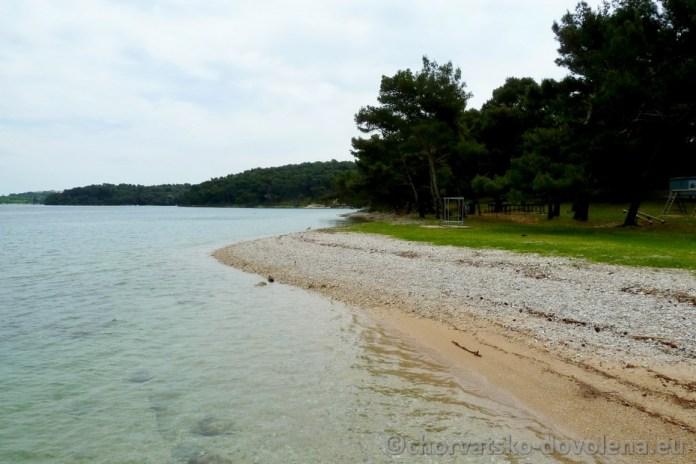 Pláž na Verudě