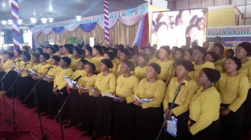 The Chosen Central Choir 7