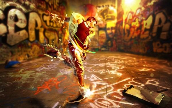 Resident Evil Dance Graffiti Art Hd - Wallpaper