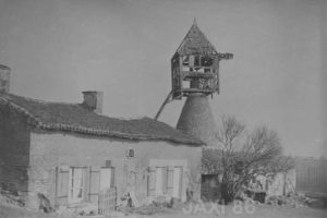 chouppes 86110 mairie photo moulin