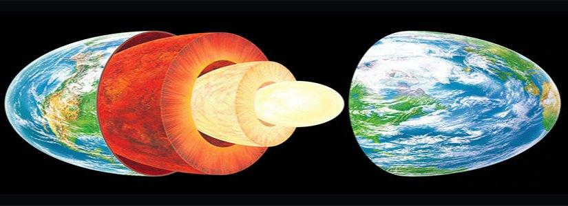 How is Earth like an onion?