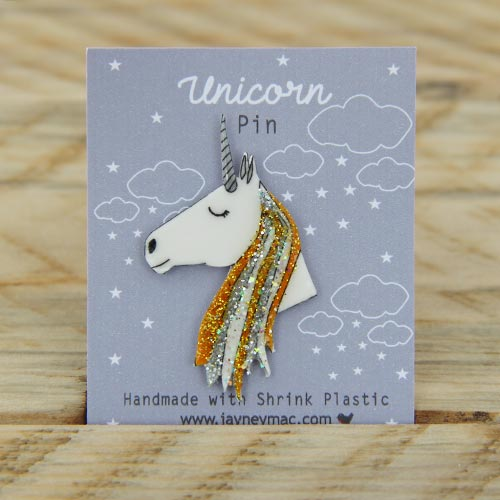 Pin Gold Unicorn Chou's Cottage