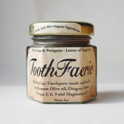Toothpaste with Wild Orange and Petitgrain from ToothFaerie 55ml