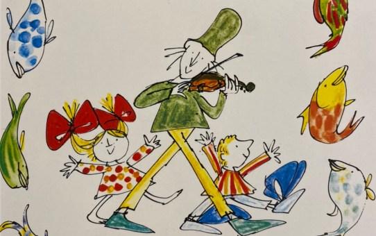 《蘇菲說故事》165 派克的小提琴