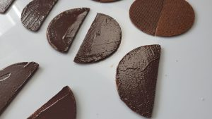 ganache et biscuit cacao