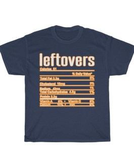 Leftovers – Nutritional Facts Short Sleeve Tee