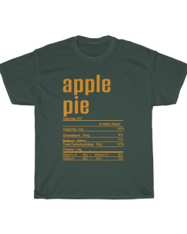 Apple Pie – Nutritional Facts Unisex Heavy Cotton Tee