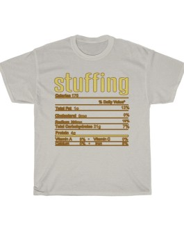 Stuffing – Nutritional Facts Unisex Heavy Cotton Tee
