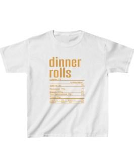 Dinner Rolls Nutritional Facts Kids Heavy Cotton™ Tee