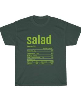 Salad – Nutritional Facts Unisex Heavy Cotton Tee