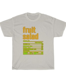 Fruit Salad – Nutritional Facts Unisex Heavy Cotton Tee