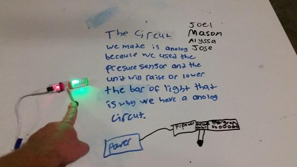 Led Lights Using Analog Flipflop Circuit Diagram