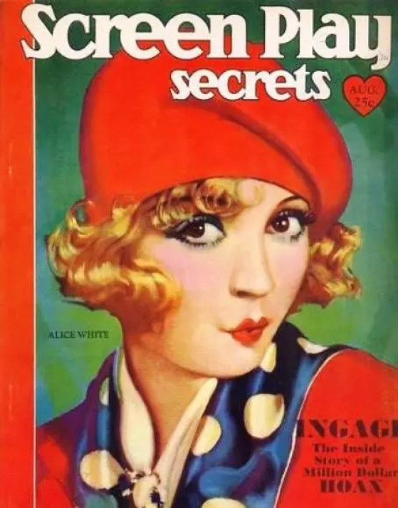 alice white,silent films