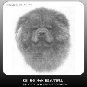 1941 national specialty winner Ch. Ho Han Beautiful Bitch