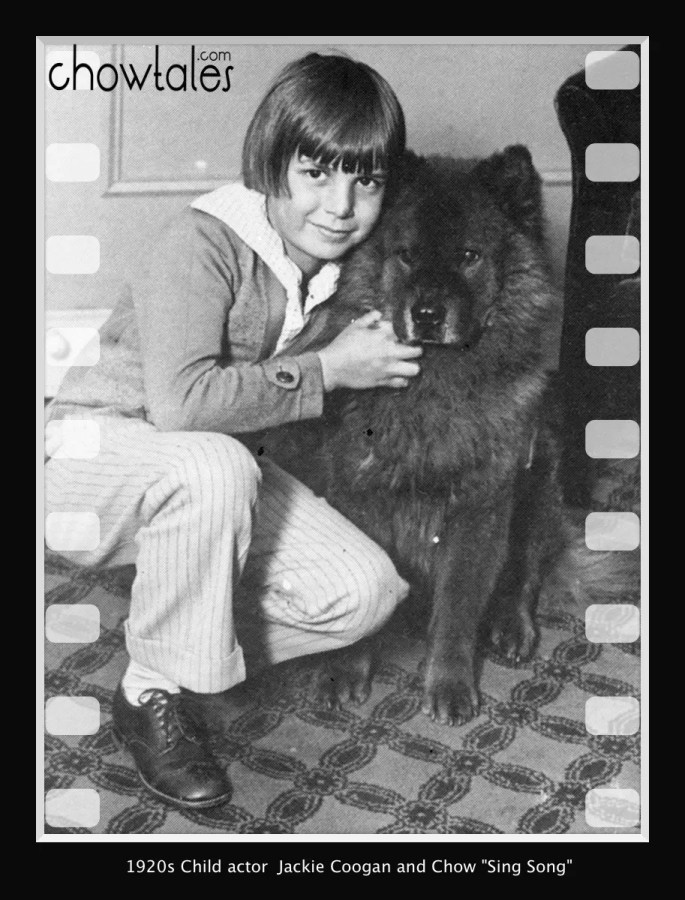 Jackie Coogan child star and sing song