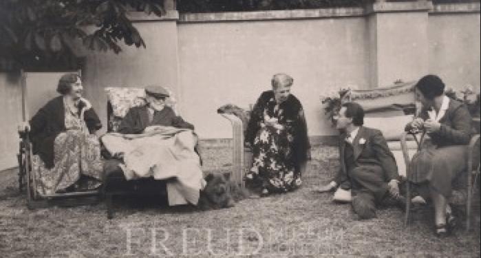 Bonaparte, Marie: Freud, Sigmund: Lun: Freud, Martha: Freud, Ernst: Stross, Josefine