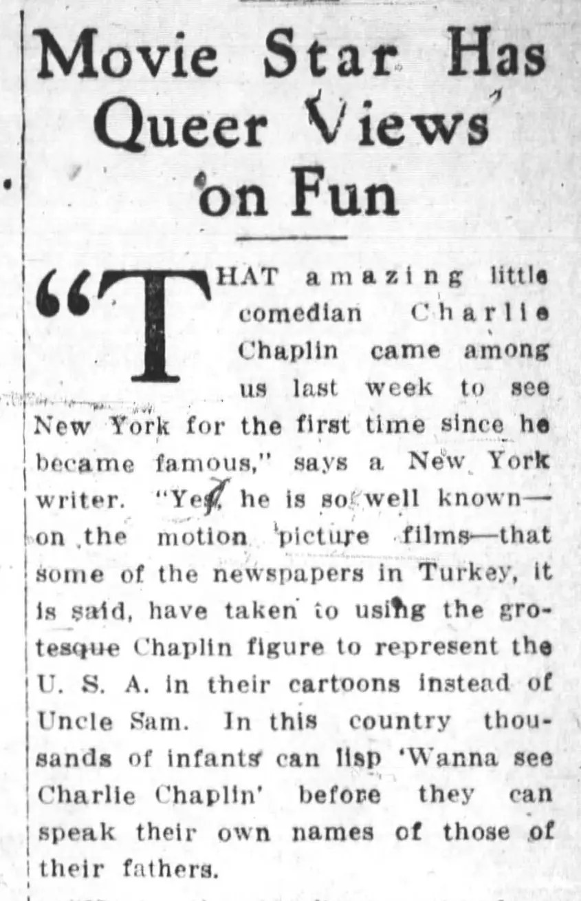 charlie chaplin cartoon chow article 1