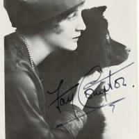 Fay Compton – English Actress and her chows circa 1919